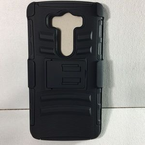 Other - LG V10 Black Heavy Duty Holster Case
